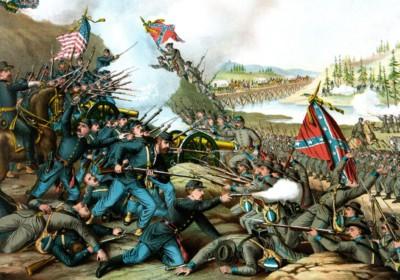 在美國南北內戰中,北方聯邦合眾國勝出。 圖片來源:wikicommons