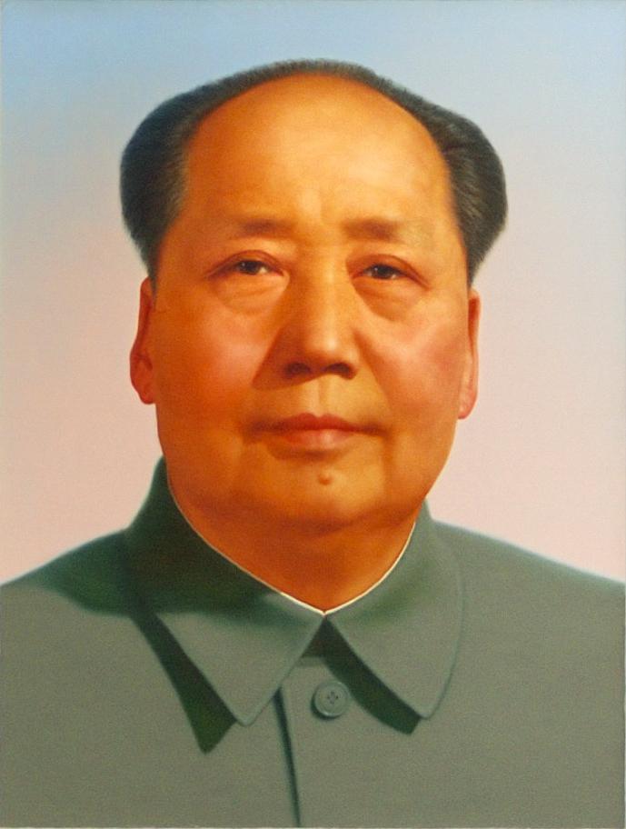 紅太陽毛澤東。 圖片來源:wikimedia