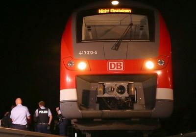7 月份德國發生一宗火車恐襲,多名乘客包括 4 名港人被斧頭斬傷。 圖片來源:APTN