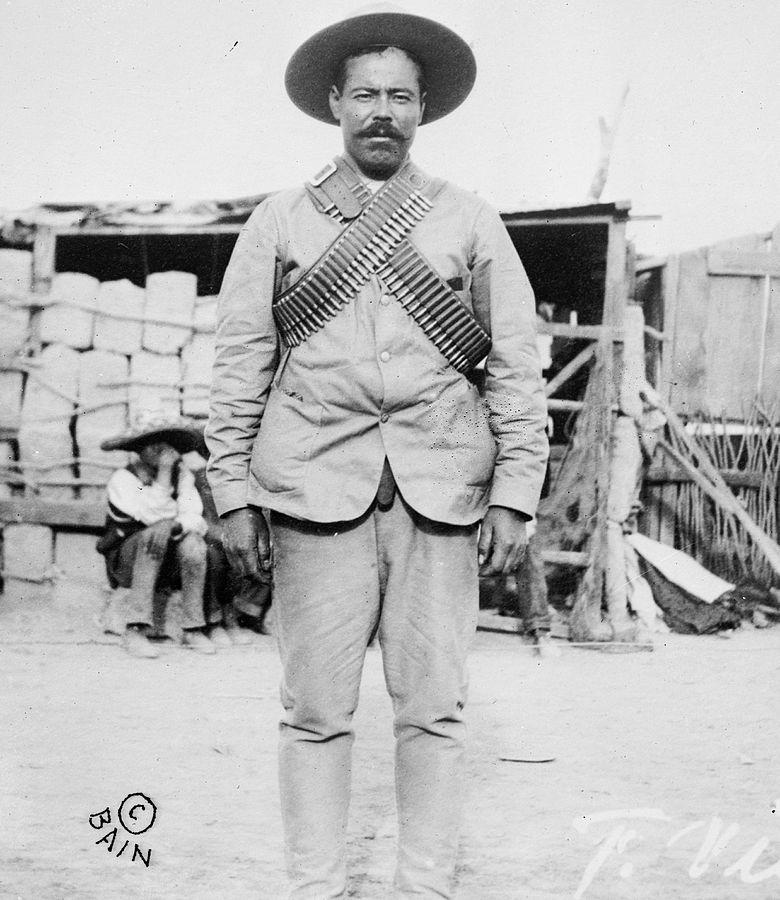 墨西哥革命時的農民義軍領袖龐丘·維拉。 圖片來源:Wikimedia