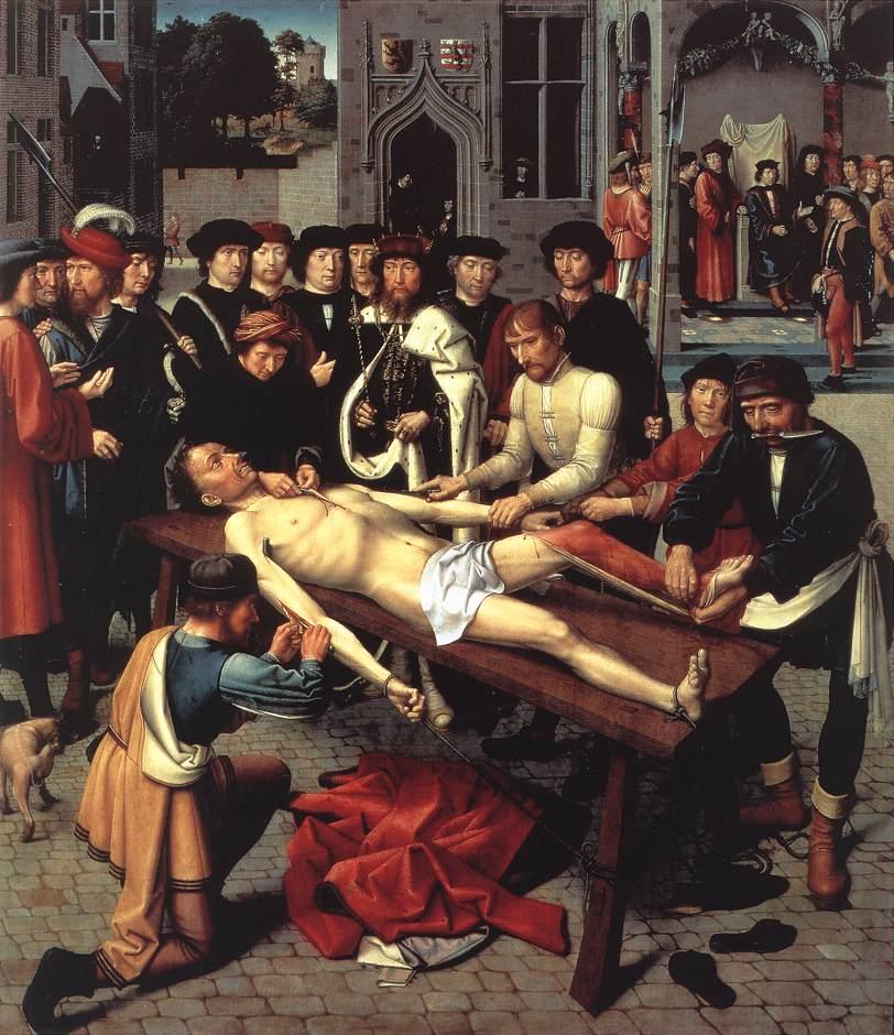 中世紀是人類最兇殘的時代。