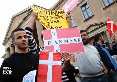 丹麥雖為先進福利國家,在紛亂的難民問題上,選擇了獨善其身。 圖片來源:PBS