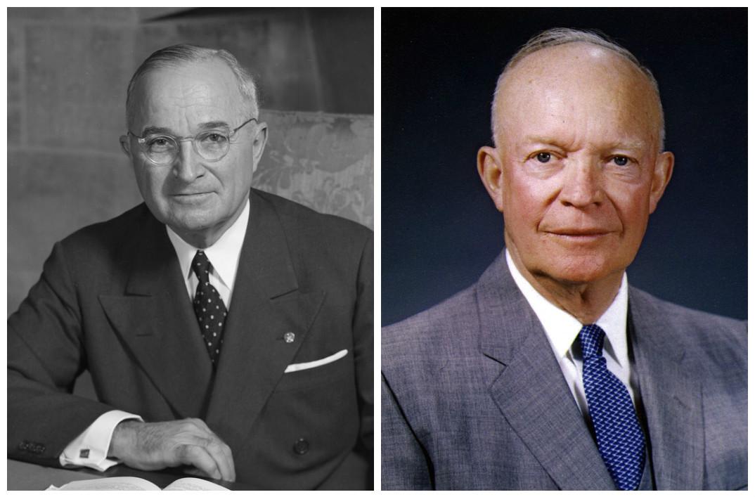 Harry S. Truman & Dwight D. Eisenhower