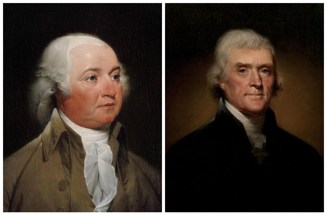 John Adams & Thomas Jefferson