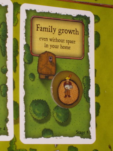 「增加家庭成員」牌