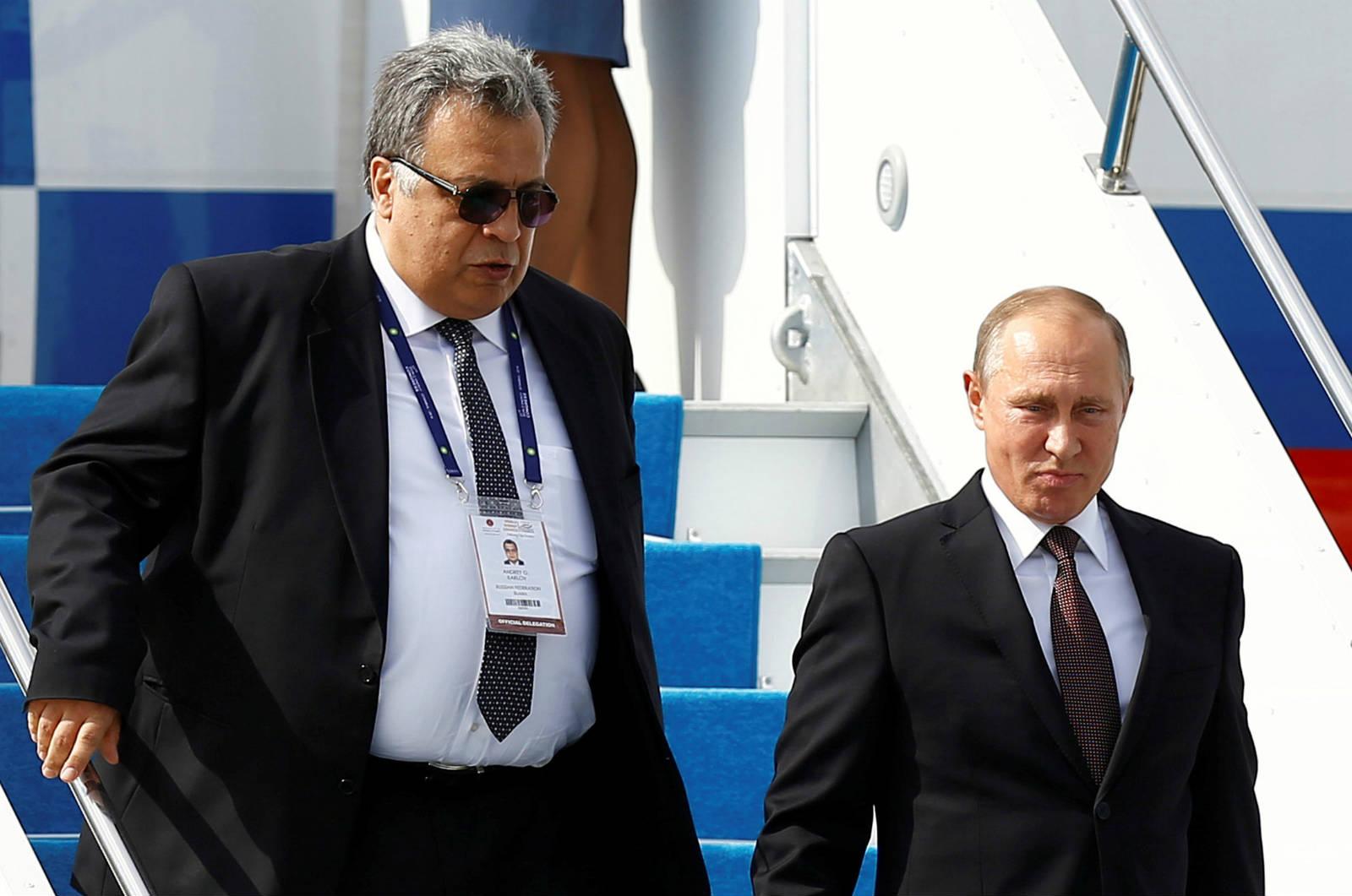 俄羅斯駐土耳其大使卡洛夫上周遇刺。 圖片來源:路透社