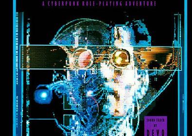 於 1988 年所發行的 Neuromancer 電玩遊戲。圖片來源:Wikipedia