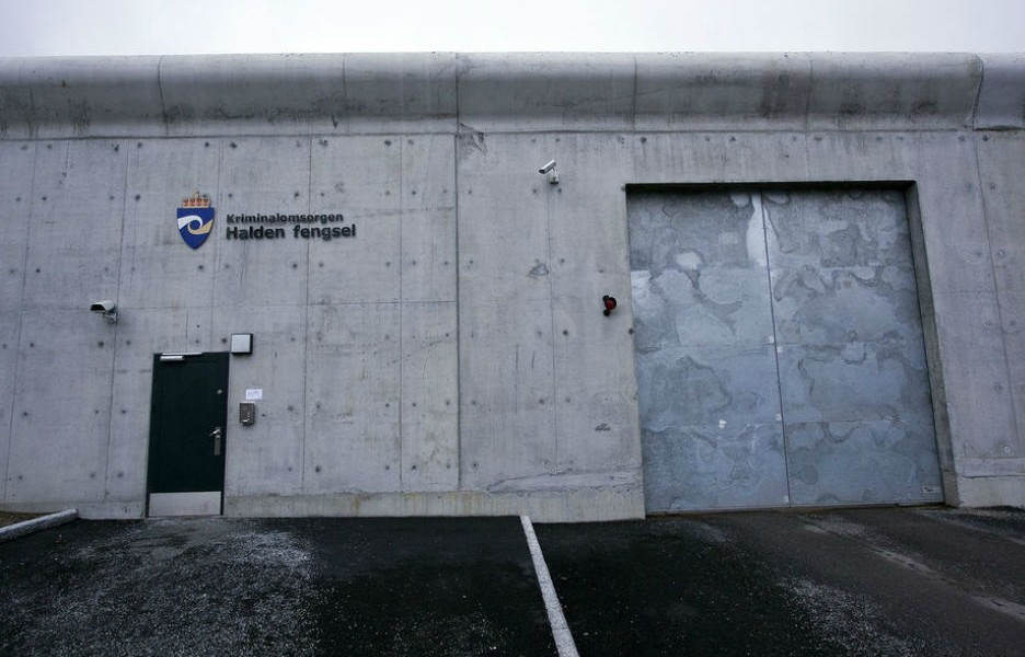 哈爾登監獄外牆 圖片來源:Teknisk Ukeblad