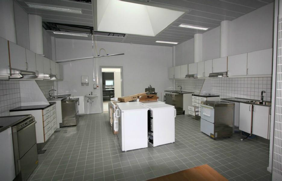 用作訓練用途的廚房 圖片來源:Teknisk Ukeblad