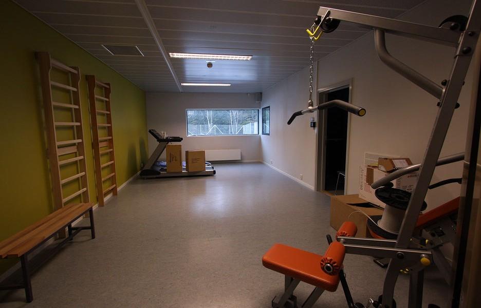 健身室 圖片來源:Teknisk Ukeblad