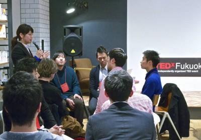TED 在福岡 Startup 籌辦創業者活動。