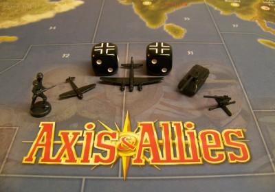 遊戲中德國的部隊種類和骰子