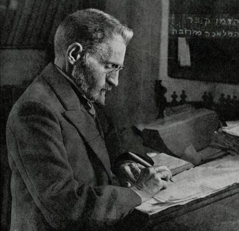 現代希伯來語之父:本耶胡達。 圖片來源:路透社