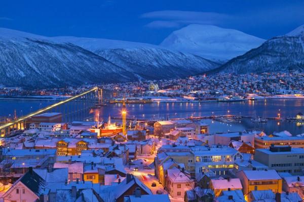威北部最大城市特羅姆瑟(Tromsø ) 圖片來源:nordnorge