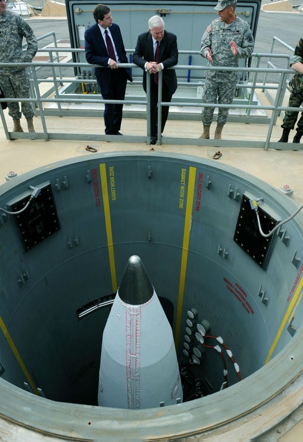 阿拉斯加州導彈發設施 圖片來源:U.S. Air Force