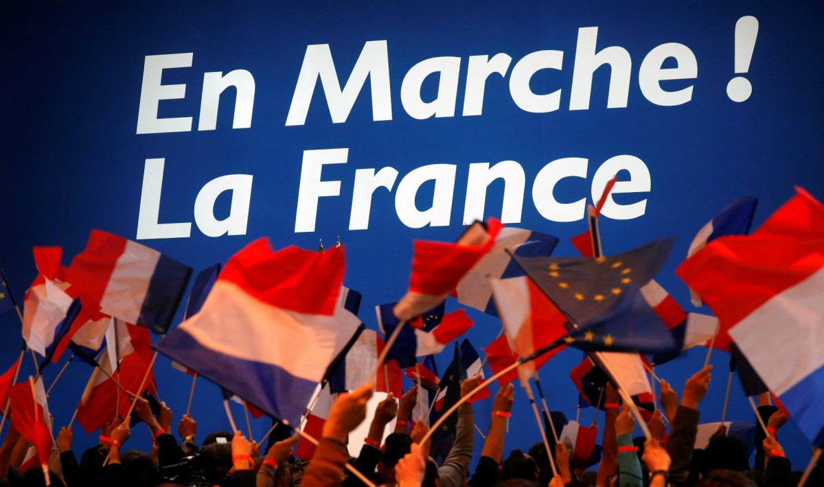 En Marche? 馬克宏政府能否前進? 圖片來源:路透社