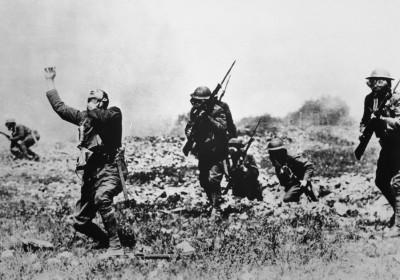 1917 年美國加入一戰,戰場報捷卻無法確立戰後秩序。 圖片來源:路透社