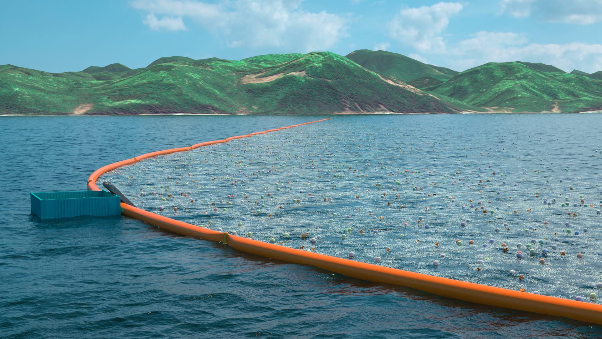 相片來源:The Ocean Cleanup