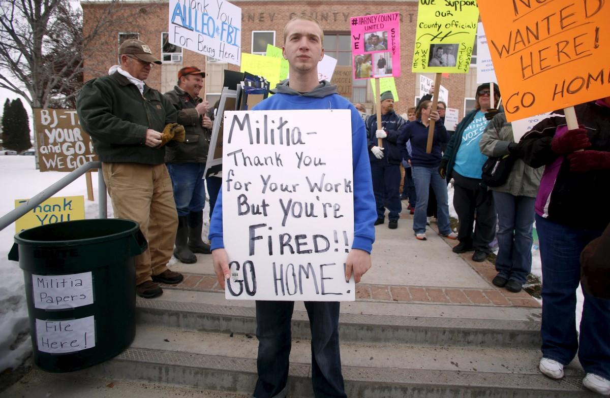 有人同情武裝佔領,但不認同做法。 圖片來源:路透社