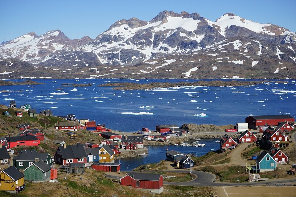 格陵蘭與丹麥要斷難斷。 圖片來源:pixabay