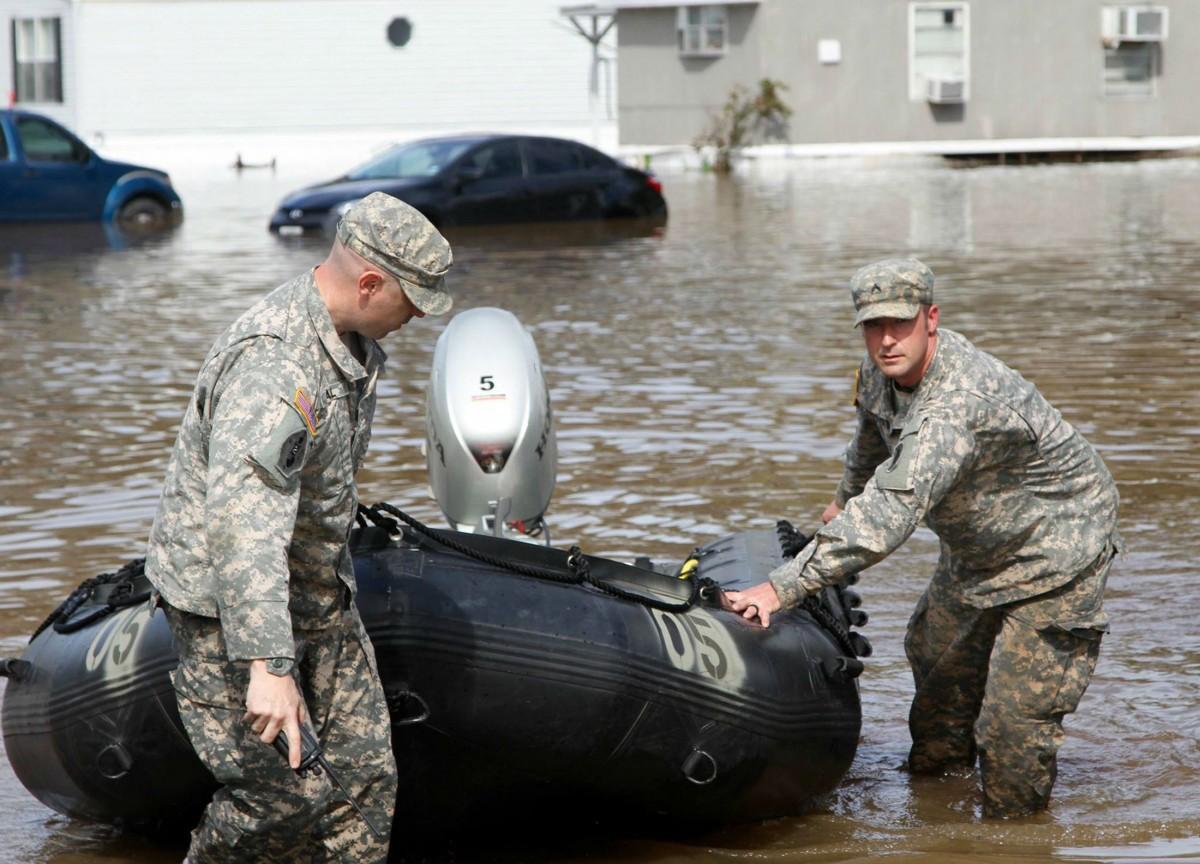 美國路易斯安那州連日暴雨,引發洪水暴漲。 圖片來源:路透社