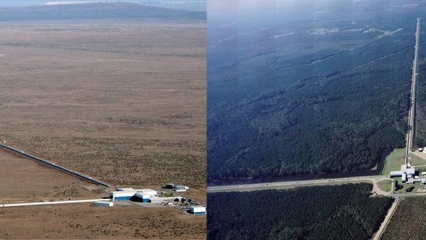 LIGO 借助光速探測,偵測到重力波的存在。 圖片來源:LIGO