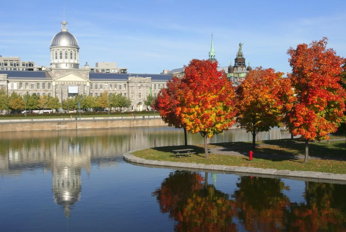 獨立前的魁北克首府蒙特利爾。 圖片來源:iStock