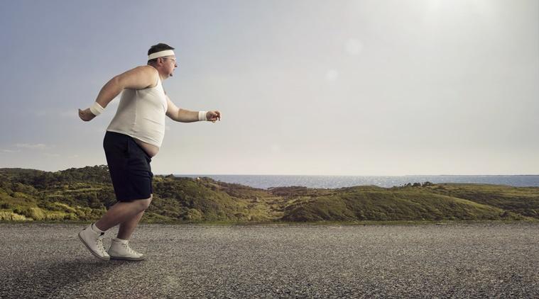 肥胖會扭曲眼界,以為前路比實際距離更遠。
