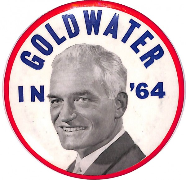 1964 年美國大舉,共和黨候選人 Barry Goldwater 一反眾望,勝出黨內初選。