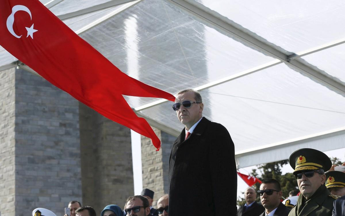 土耳其總統埃爾多安被指多番打壓言論自由。 圖片來源:路透社