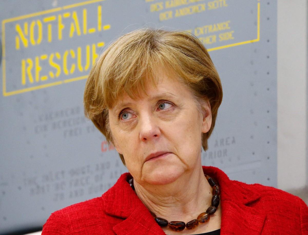 德文新詞「merkeln」取材自默克爾名字,意思是「不言、不做、不決」。 圖片來源:路透社