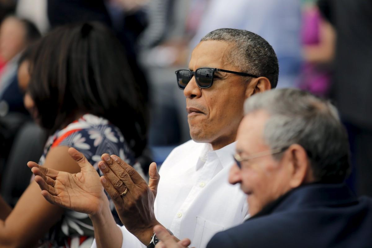 奧巴馬先後與伊朗、古巴破冰,反映其外交思維有別於美國傳統方針。 圖片來源:路透社