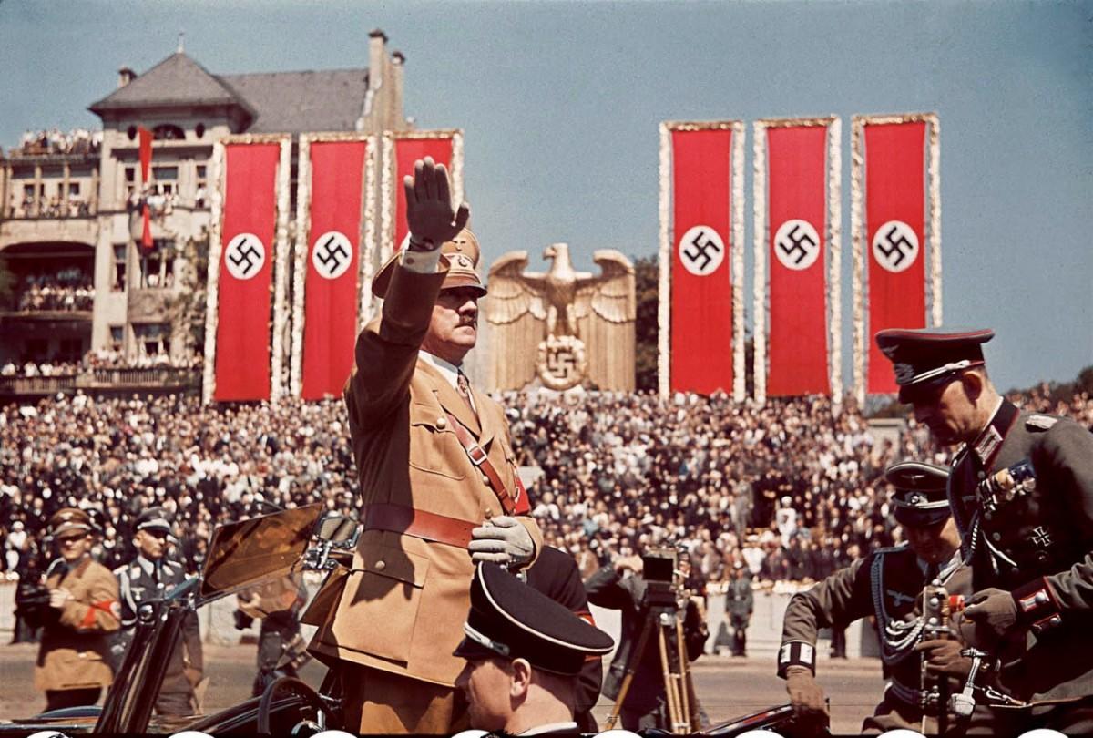 有評論指,德國一度追求偉大,最後重創之下,形成「小國視野」。 圖片來源:Rare Historical Photos