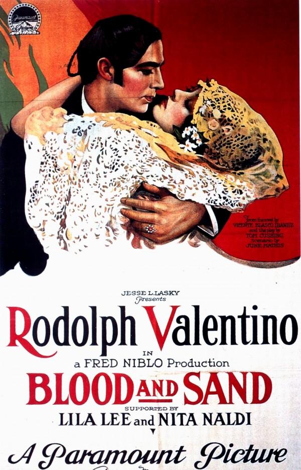 1920年代「銀幕情人」華倫天奴的電影「碧血金沙」