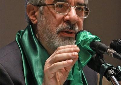 前伊朗總理 Mir-Hossein Mousavi 屬於改革陣營。 圖片來源:維基百科