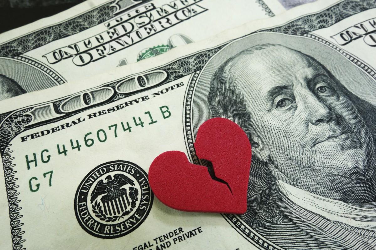 講錢傷感情,當無感情就可以講錢。 圖片來源:iStock