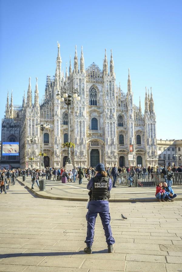 意大利反恐有一套。 圖片來源:iStock