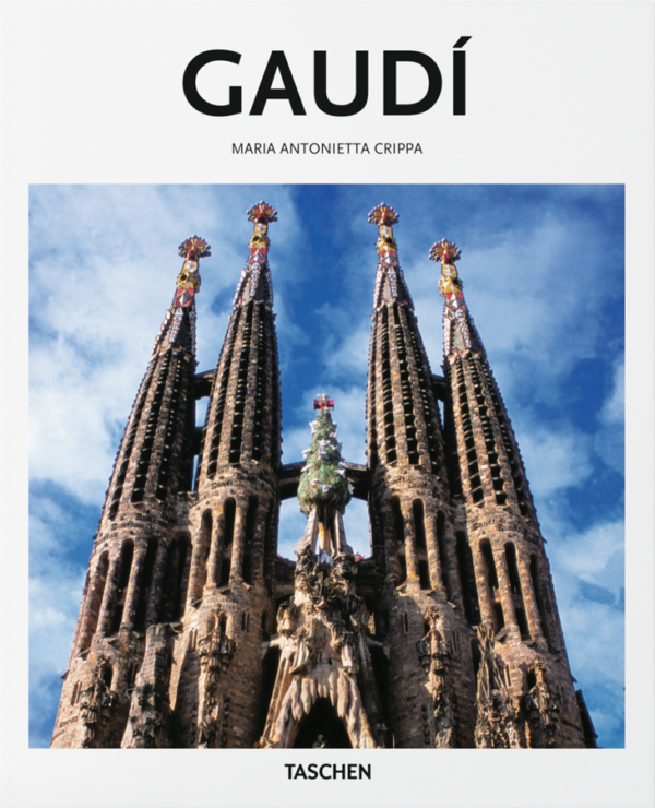 Gaudi/圖片來源:Taschen 官方網頁