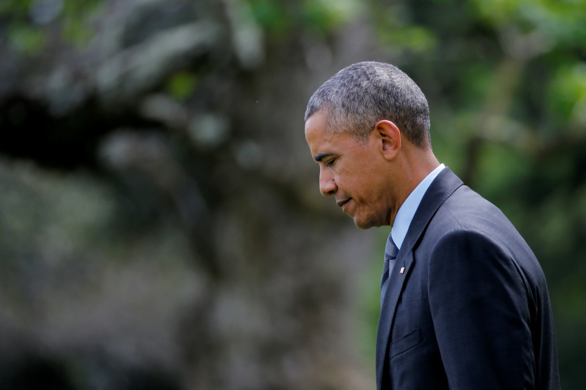 被問及任內最大錯誤,奧巴馬自問在於忽視介入利比亞的後遺。 圖片來源:路透社