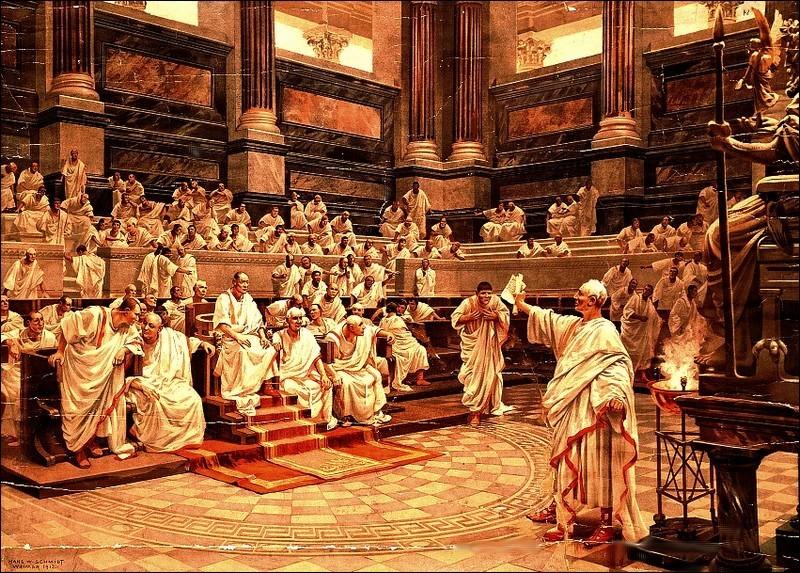 雄辯家西塞羅不滿民粹興起,因而被克洛狄烏斯放逐。