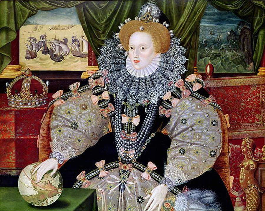 伊莉沙伯女王為甚麼不笑?因為她有一口黑牙。