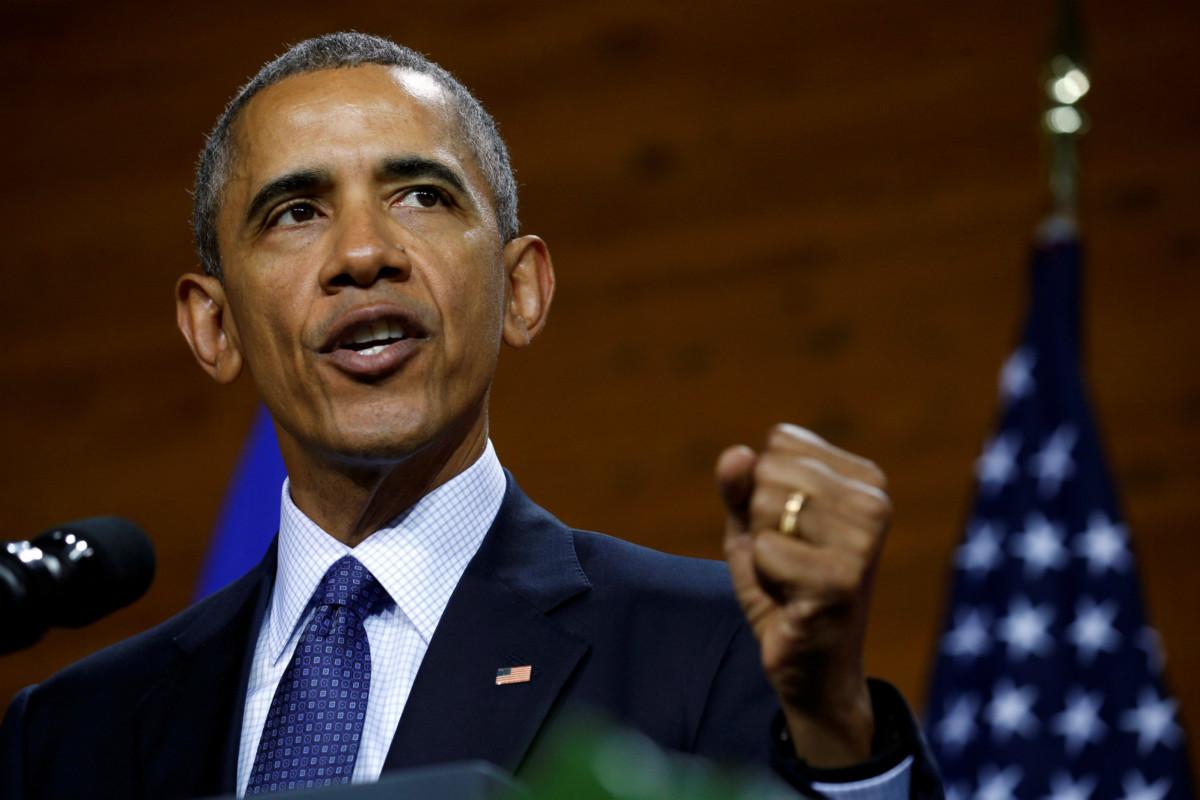 扭轉美國外交傳統的人--奧巴馬。 圖片來源:路透社