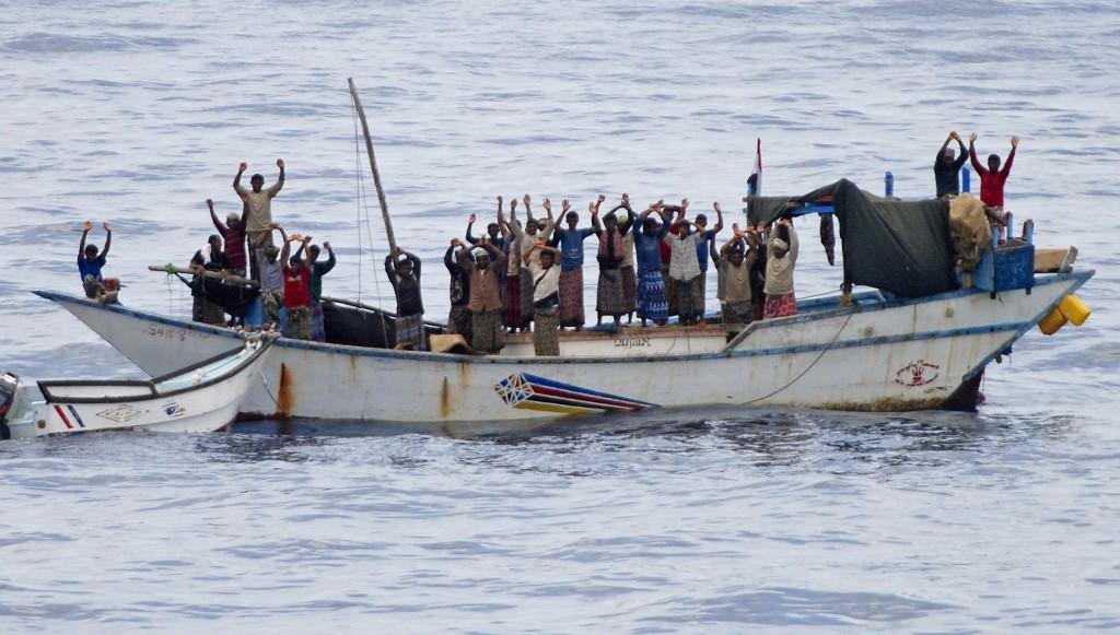 海盜--索馬利亞的救世主。 圖片來源:路透社