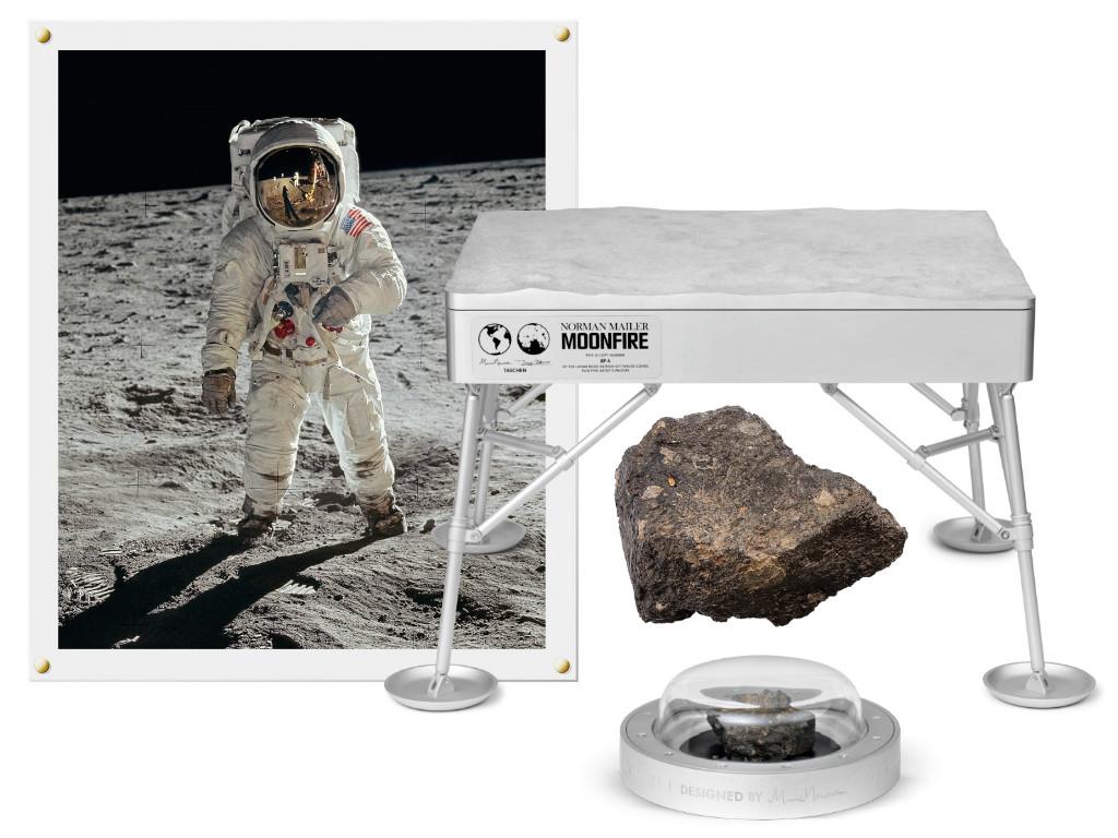 Norman Mailer, Marc Newson. No. 1,969. MoonFire Lunar Rock Ed.