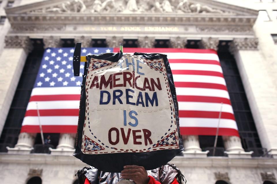 美國夢--白日夢一場? 圖片來源:路透社