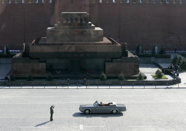 列寧陵墓位於莫斯科紅場,遺體保養年費 155 萬港元。 圖片來源:路透社