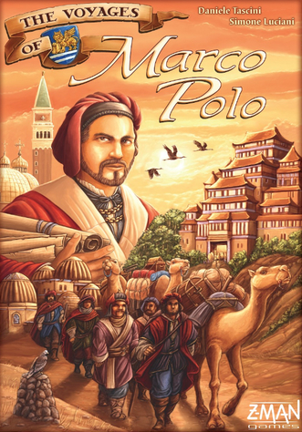 The Voyages of Marco Polo 桌遊 圖片來源:boardgamegeek.com