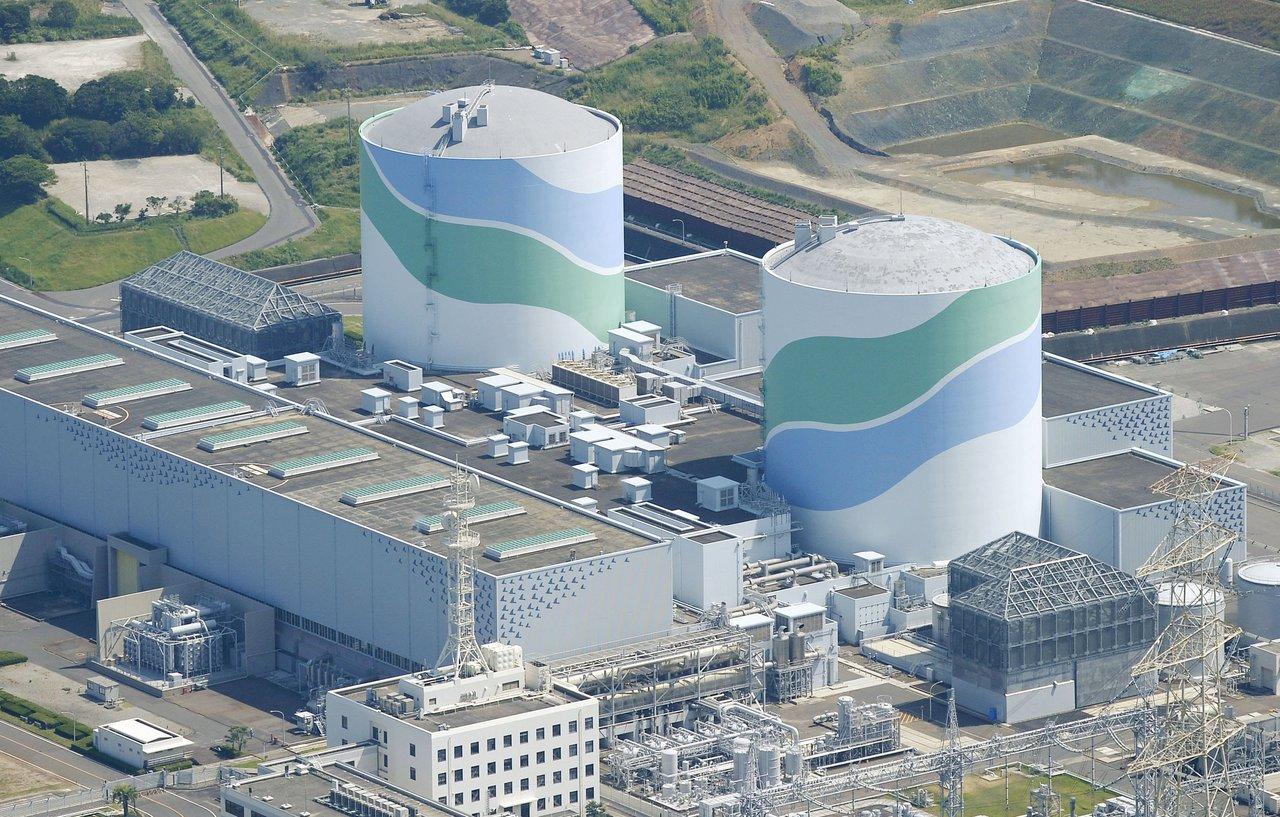 沿海鄰近震央的九州川內核電站。 圖片來源:路透社