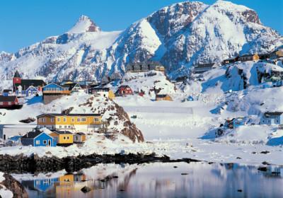 格陵蘭長期處於冰雪之中。 圖片來源:flickr