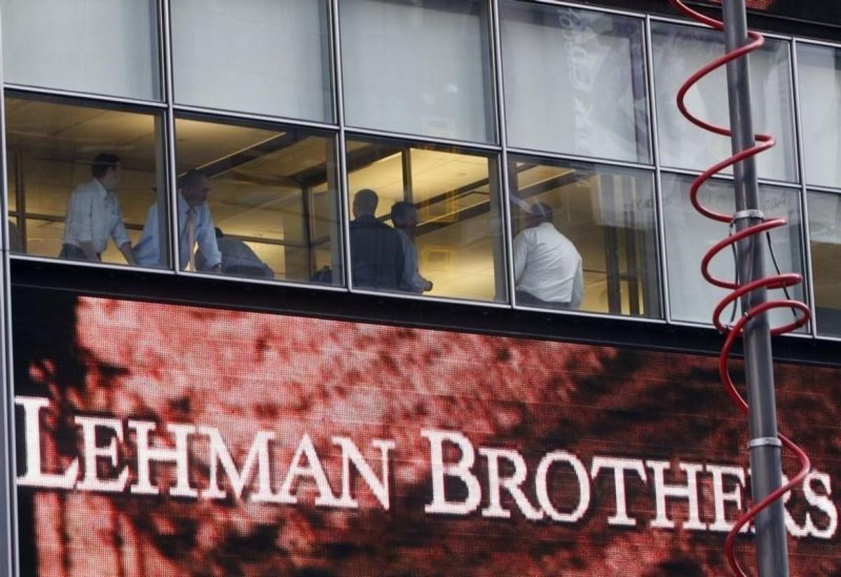 有經濟學家指出,引爆金融海嘯的雷曼兄弟,只是一間中型影子銀行。 圖片來源:路透社